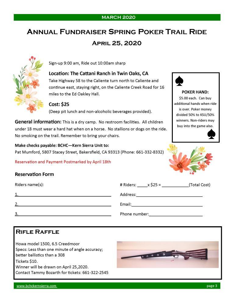 2020 Spring Ride